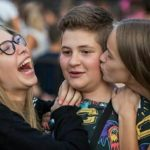 Confused boy and two girls laughing and kissing him on the cheek  meme template blank Kissing, Laughing, Cheek, Girls, Confused
