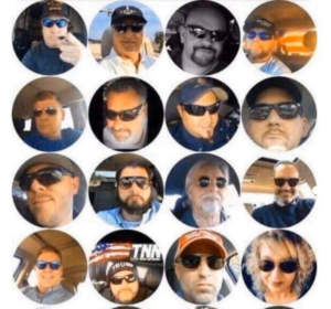 Boomers in sunglasses Opinion meme template