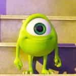 Kid Mike Wazowski Happy Pixar meme template blank  Mike Wazowski, Monsters Inc, Pixar, Happy, Smiling, Kid, Child