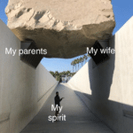 wholesome-memes cute text: Bad news My parents sprit y wife  cute