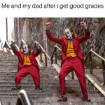 wholesome-memes cute text: Me and my dad after i get good grades  cute