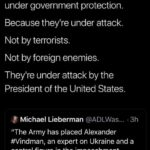 political-memes political text: Rick Wilson * @TheRickWilson An American solider and family are under government protection. Because they