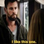 Thor 'I like this one.' Avengers meme template blank  Thor, Marvel Avengers, Happy