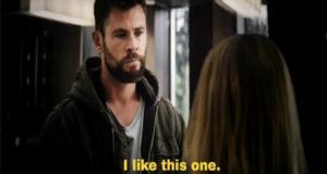 Thor 'I like this one.' Avengers meme template