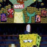 spongebob-memes spongebob text:  Spongebob Meme, Marvel, D.C. Comics, Burger, Neptune