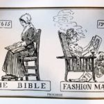 boomer-memes cringe text: he New Woman THE BIBLE 1915 FASHION MAGAZJNE PROGRESS