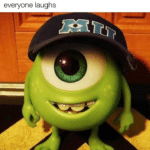 wholesome-memes cute text: When an introvert makes a joke in class and everyone laughs  cute