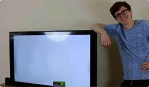 Scott the Woz with his tv TV meme template