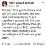 political-memes political text: Keith Lowell Jensen 1 min • The next time you feel poor, and can