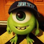 Mike Wazowski as a kid Pixar meme template blank  Mike Wazowski, Pixar, Monsters Inc, Kid, Child