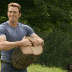 Captain America splitting wood Avengers meme template blank