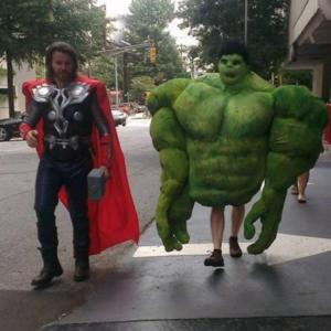 Hulk small legs Avengers meme template