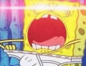 Spongebob reaching into underwear  Spongebob meme template
