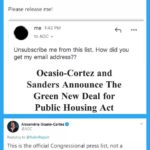 political-memes political text: Dave Rubin @RubinReport Hi @AOC, not sure who you bought my email from, but I assure you I didn
