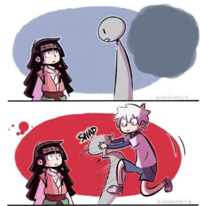 Snapping someone