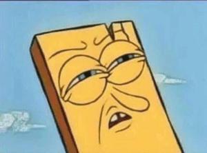 Confused Spongebob Plank Confused meme template