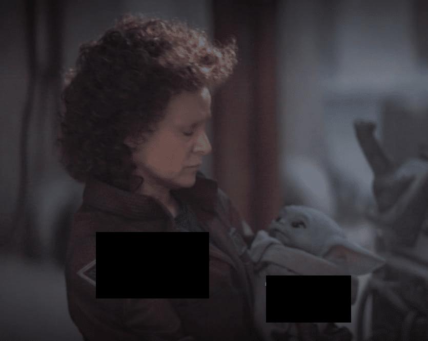 Meme Generator - Woman Holding Baby Yoda - Newfa Stuff