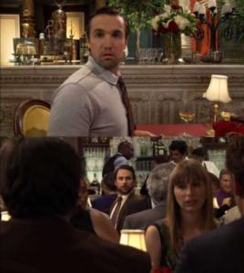 Charlie seeing Mac Always Sunny meme template