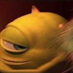 Mike Wazowski Looking Suggestively Pixar meme template blank  Pixar, Monsters Inc., Mike Wazowski, Looking, Smiling, Wry