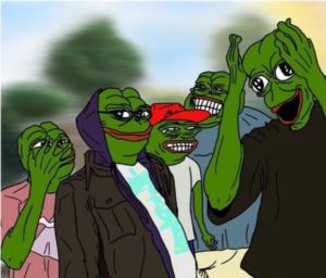 Pepe Supah Hot Fire Music meme template