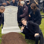 Man happy at grave Opinion meme template blank  Opinion, Man, Happy, Grave, Death, Dying, Buried, Tomb, Peace Sign, Jerk, Rude, Mean