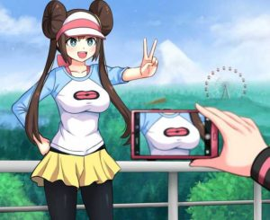 Taking Picture of Pokemon Trainer Pokemon meme template