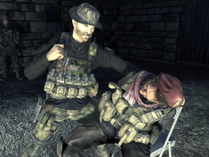 Captain Price Interrogation Gaming meme template