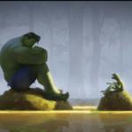 Hulk Talking to Kermit Frog meme template blank  Frog, Hulk, Avengers, Talking, Discussing, Kermit