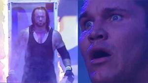 Wrestler scaring other guy Scaring meme template