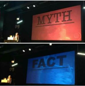 Presentation: Myth vs. Fact Opinion meme template