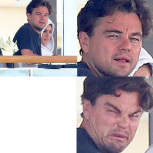 Leonardo DiCaprio neutral then angry Angry meme template