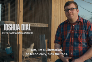 Im a Libertarian so technically, fuck the feds Opinion meme template
