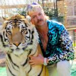 Joe Exotic with Tiger Tiger King meme template blank  Tiger King, Joe Exotic, Tiger, Animal, Wholesome