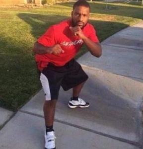Black man ready to fight you Black Twitter meme template