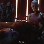 You're weak. I'm you. Avengers meme template blank  Avengers, Sad, Depression, Nebula, Vs, Self