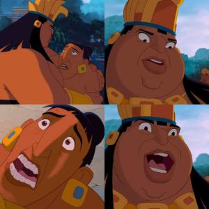 El Dorado template (blank) Shocked meme template