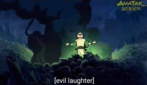 Evil laughter Stitch and Avatar  Chimera meme template