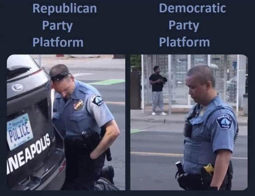 Political, Biden, Trump, Democrats, Wondering, Obama Political Memes Political, Biden, Trump, Democrats, Wondering, Obama text: Republican Party Platform Democratic Party Platform