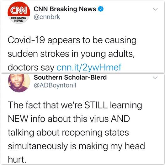 tweets, Covid, COVID, New York, CNN, Trump Black Twitter Memes tweets, Covid, COVID, New York, CNN, Trump text: CNN Breaking News @cnnbrk BREA