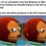 """Star Wars Memes Sequel-memes, Palpatine, Weinstein, Sheev, Star Wars, Rey text: """"Wtf, it"""