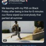 Black Twitter Memes Tweets, PS5, PS4, Xbox, Black Friday, Rona  May 2020