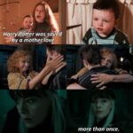 Wholesome Memes Wholesome memes, Harry, Narcissa, Draco, Molly, Snape text: Harrygotter was sayed by a mother love more than once.  Wholesome memes, Harry, Narcissa, Draco, Molly, Snape