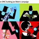 Political Memes Political, Professor DNC, Presidential text: The DNC building Joe Biden