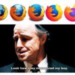 Dank Memes Dank, Firefox, Chrome, Mozilla, Logos, Global Warming text: Look how they massacred my boy.  Dank, Firefox, Chrome, Mozilla, Logos, Global Warming