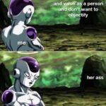Wholesome Memes Cute, Frieza, Ass text: @enď anďva/oŕ i on