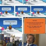 other memes Dank, Club Penguin text: what do penguins do in a race?? Nikoluvjules They peng-win! And theyre penguins 101 Nikoluvjules enn13 WELL a Get enn13 don
