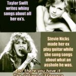 cringe memes Cringe, Taylor, Stevie, Fleetwood Mac text: American Taylor Swift writes whiny songs about all her ers. Stevie Nicks made her ex play guitar while she sung songs aboutwhatan asshole he was. And the e you have it. The definng difference between Boomers and Millennials:ti$