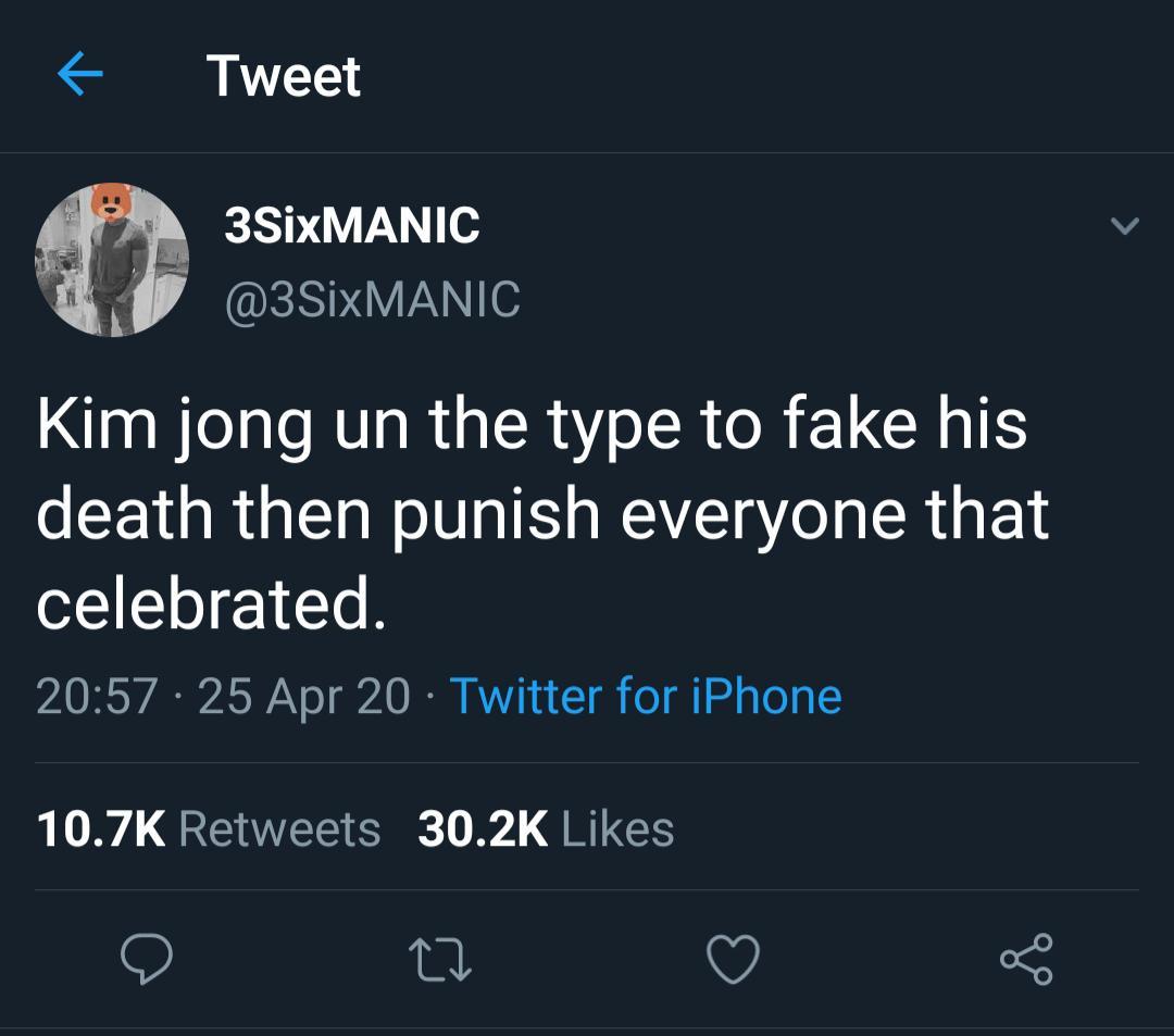 tweets, North Korea, Simpsons, Kim, Jong Un, China Black Twitter Memes tweets, North Korea, Simpsons, Kim, Jong Un, China  May 2020