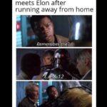 Star Wars Memes Sequel-memes, Finn, Sascha, Grimes, Greek, Ash text: Elon