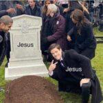 Christian Memes Christian, Easter, Arrow, Trump, Joseph, Christians text: JestlS JeSlJS